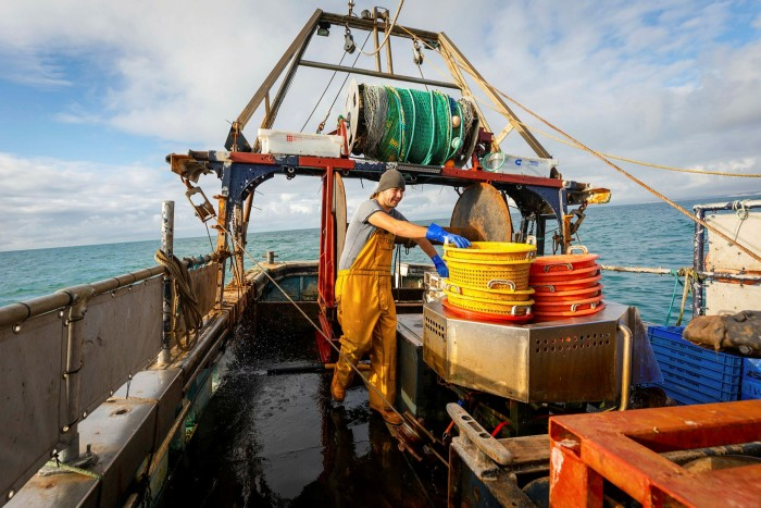 Talks with the EU are bogged down on the question of access to British fishing grounds