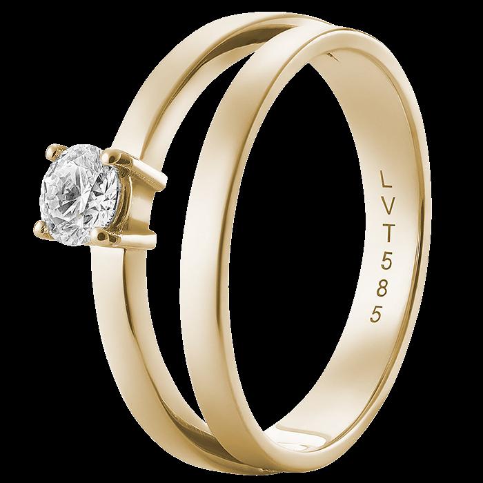 Von Trapp's gold diamond ring
