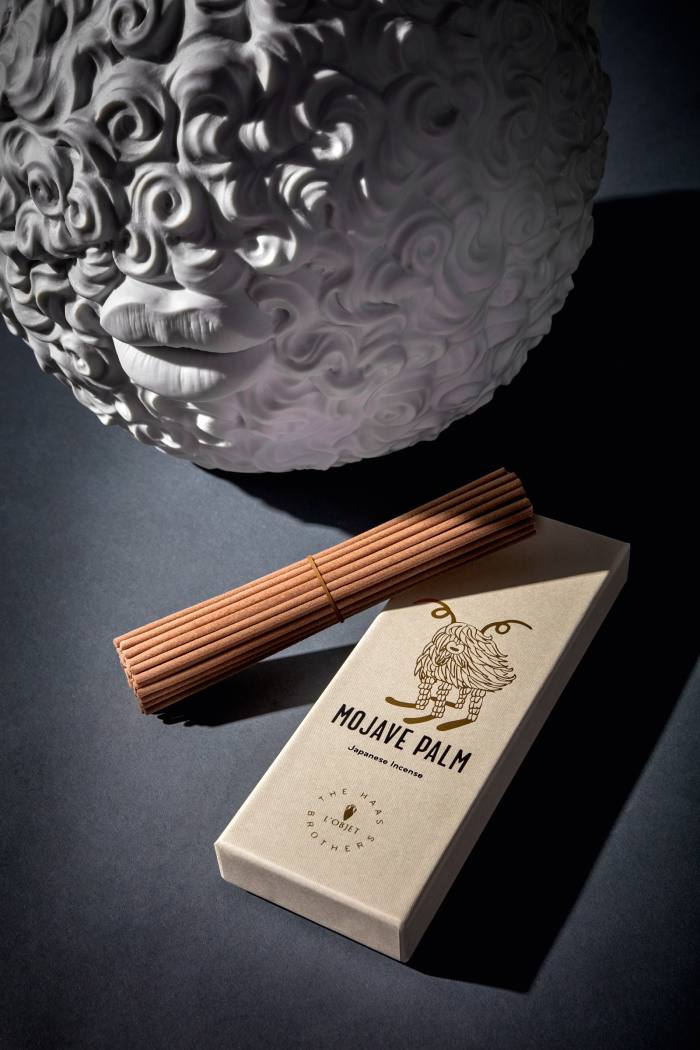 L'Objet Haas Brothers Mojave Palm incense, £45
