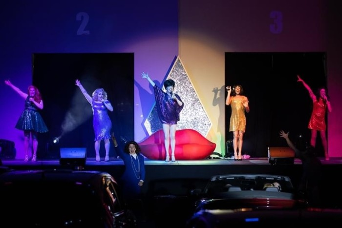 The Drive-In Drag Show takes to the stage at the Dreamland Drive-In, Las Vegas