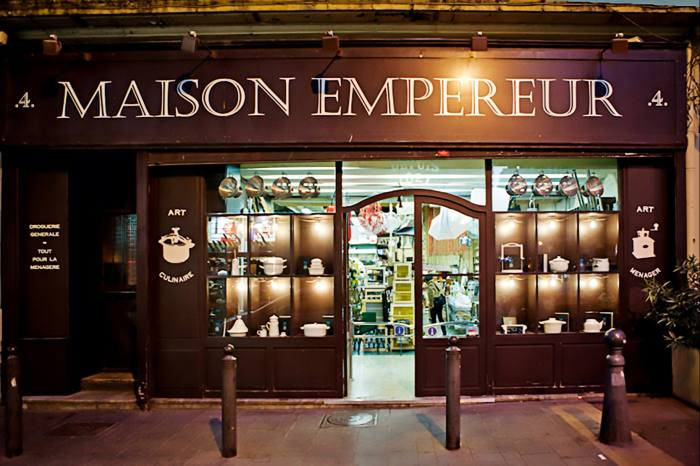 Maison Empereur is located in the old port of Marseille