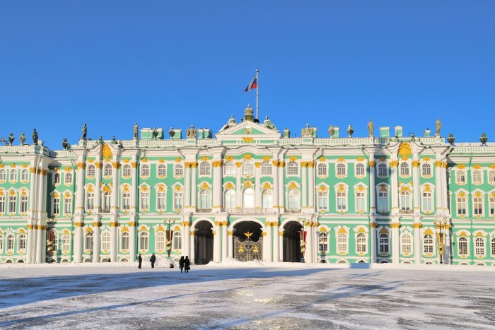 The Winter Palace, St Petersburg