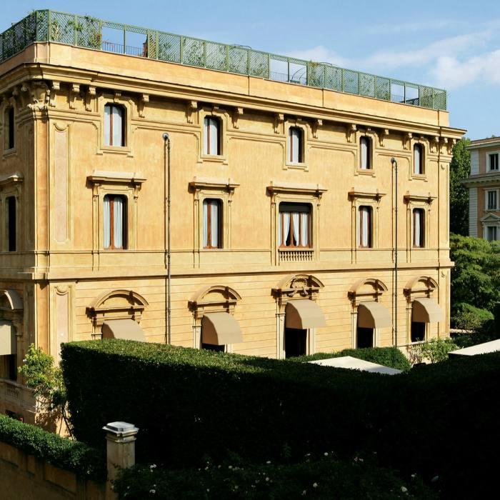 Villa Spalletti Trivelli: a 19th-century mansion on the Quirinale, Rome's highest hill