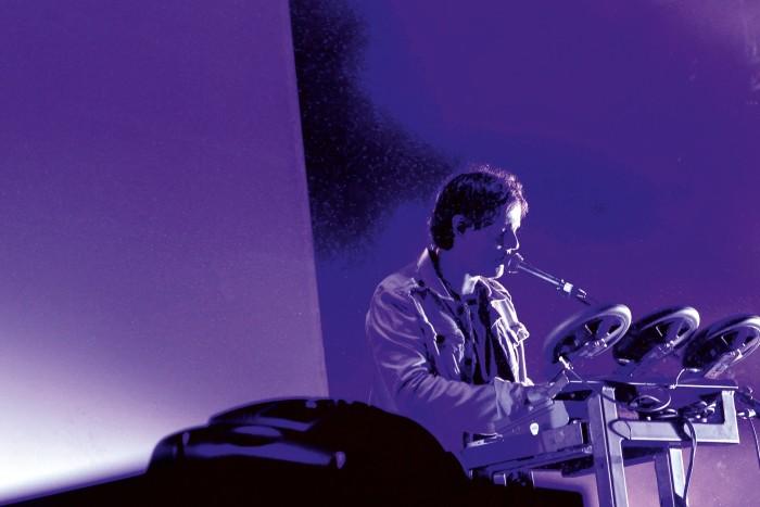 Italian musician Alessandro Cortini