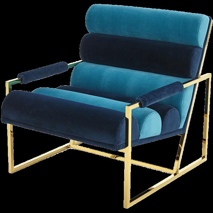 Goldfinger armchair by Jonathan Adler, £2,150, frommadeindesign.co.uk