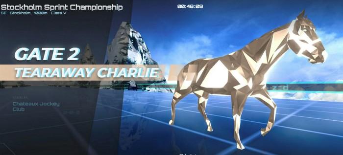 Frank Partnoy's digital horse 'Tearaway Charlie'