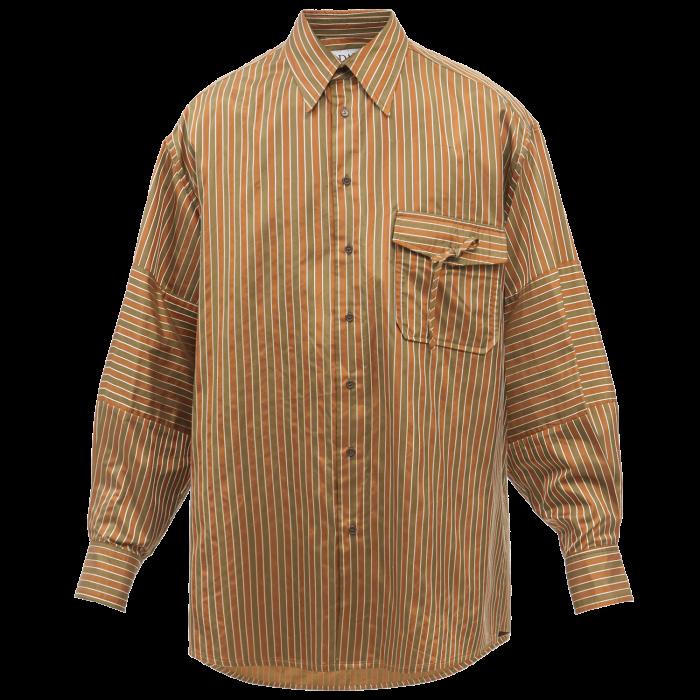 SS DALEY satin Majok shirt, £1,250, matchesfashion.com