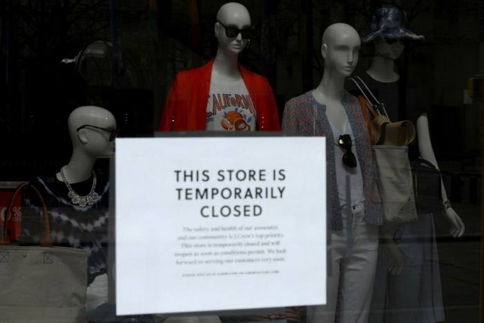J Crew is one of many US apparel brands to file for bankruptcy in the past four months