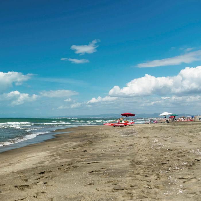 ...relax on the beach or sample some of the good restaurants at Fregene