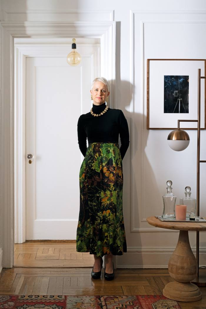 Nicole Berry in her New York home
