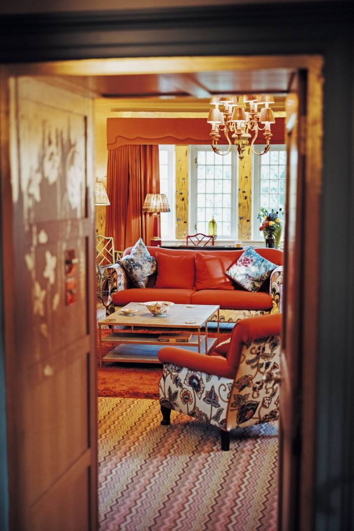 Glenmorangie House's morning room