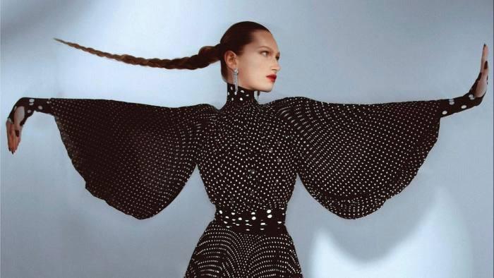Clothes from US fashion designer Prabal Gurung, autumn/winter 2021
