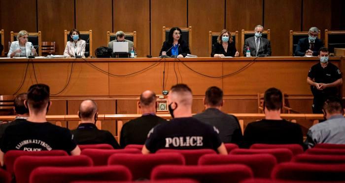 Judge announces verdict of Golden Dawn trial