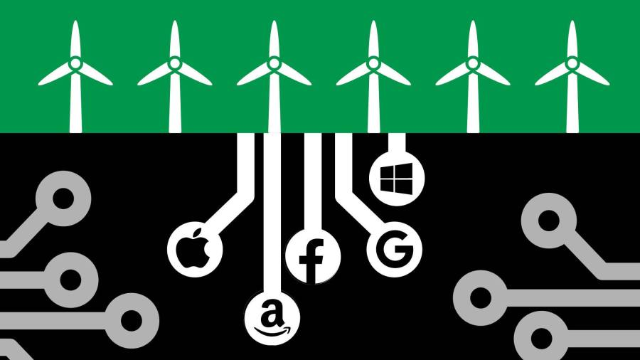 How tech went big on green energy