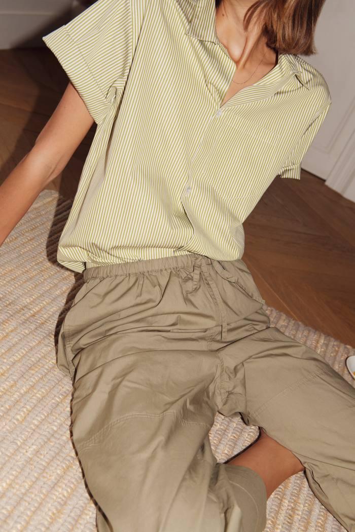 Ali shirt in Absinthe, £245