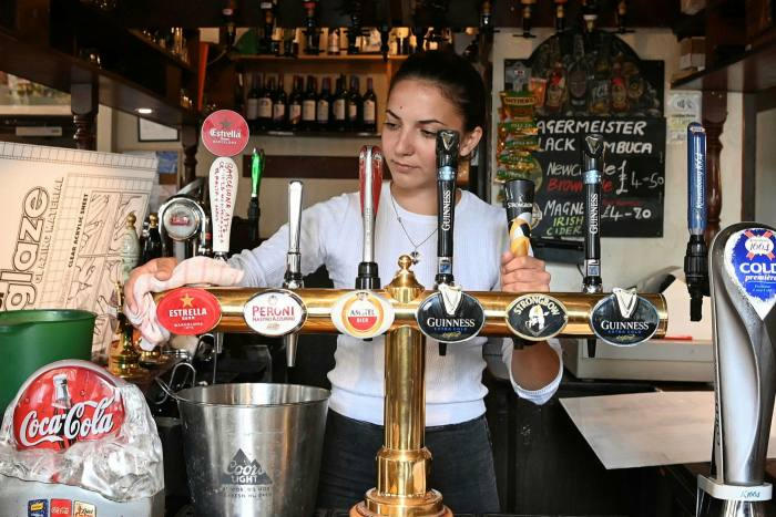 Pubs in England reopened on July 4