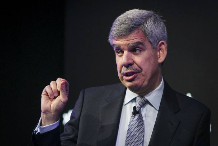 Mohamed El-Erian: 'A vibrant market-based system depends on the robustness of institutions and the rule of law'