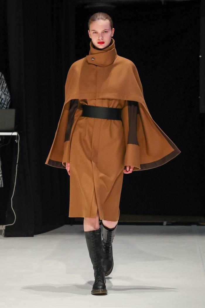 Chalayan cape coat, POA