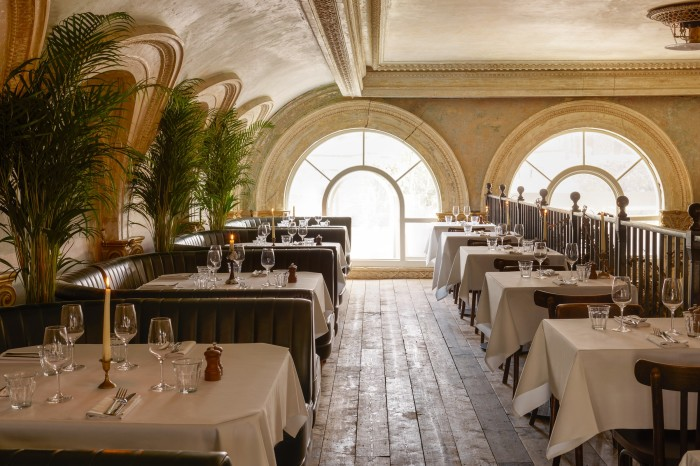 The Sessions Arts Club combines seasonal cuisine with events and exhibitions