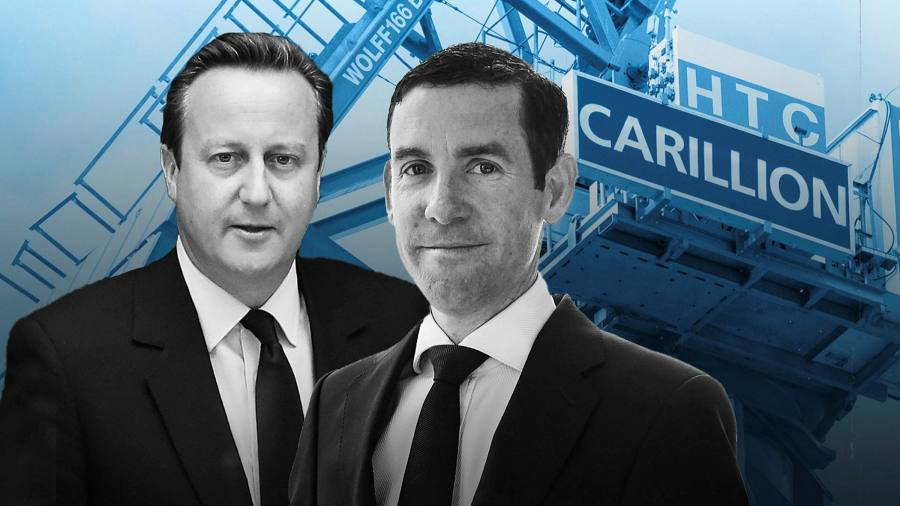 How Lex Greensill helped sow the seeds of Carillion crisis