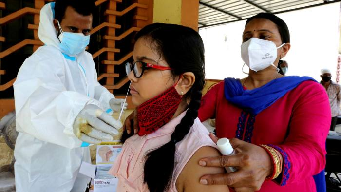 Coronavirus surges in India as infections spread from cities   Financial  Times