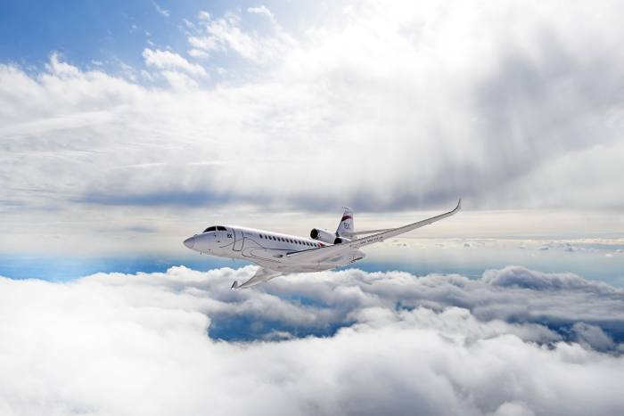 The Dassault Falcon 8X is triple-engined and ultra-long-range