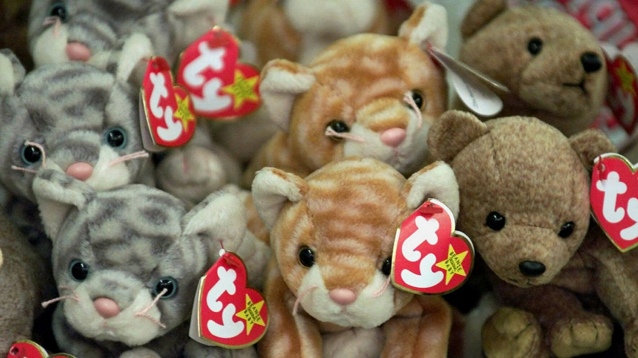 Looking back at the Beanie Baby bubble