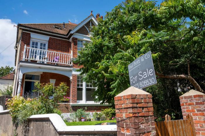 House for sale in the Queens Park area of Brighton, England