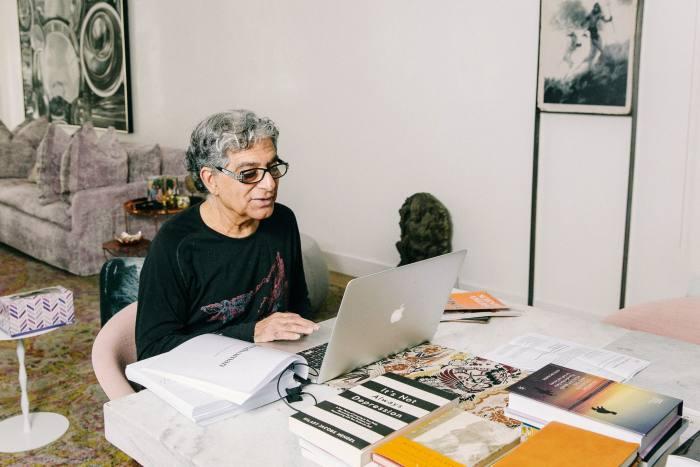 Deepak Chopra working on his latest bookMetahuman
