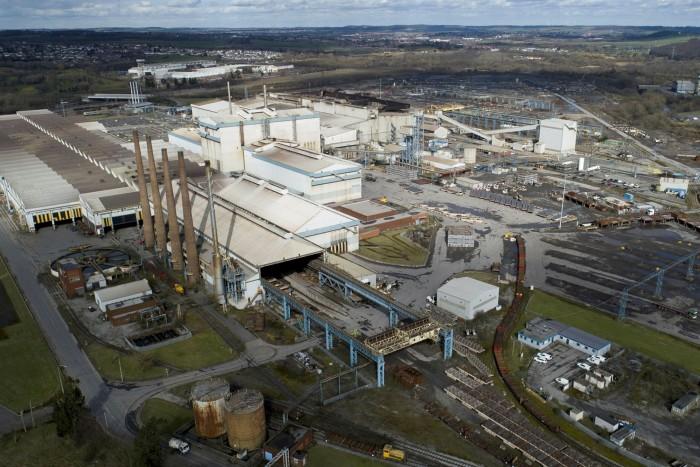 Liberty Steel's Rotherham Plant