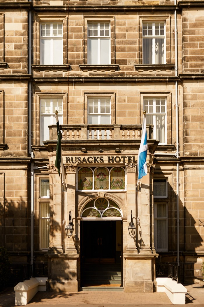 Rusacks St Andrews' 1800s building is a stone's throw from the Old Course Links