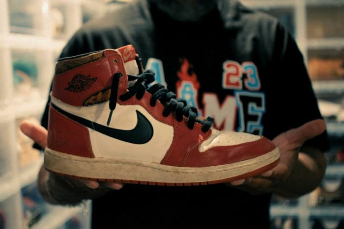 One Man And His Shoes How Michael Jordan Became A Logo Financial Times