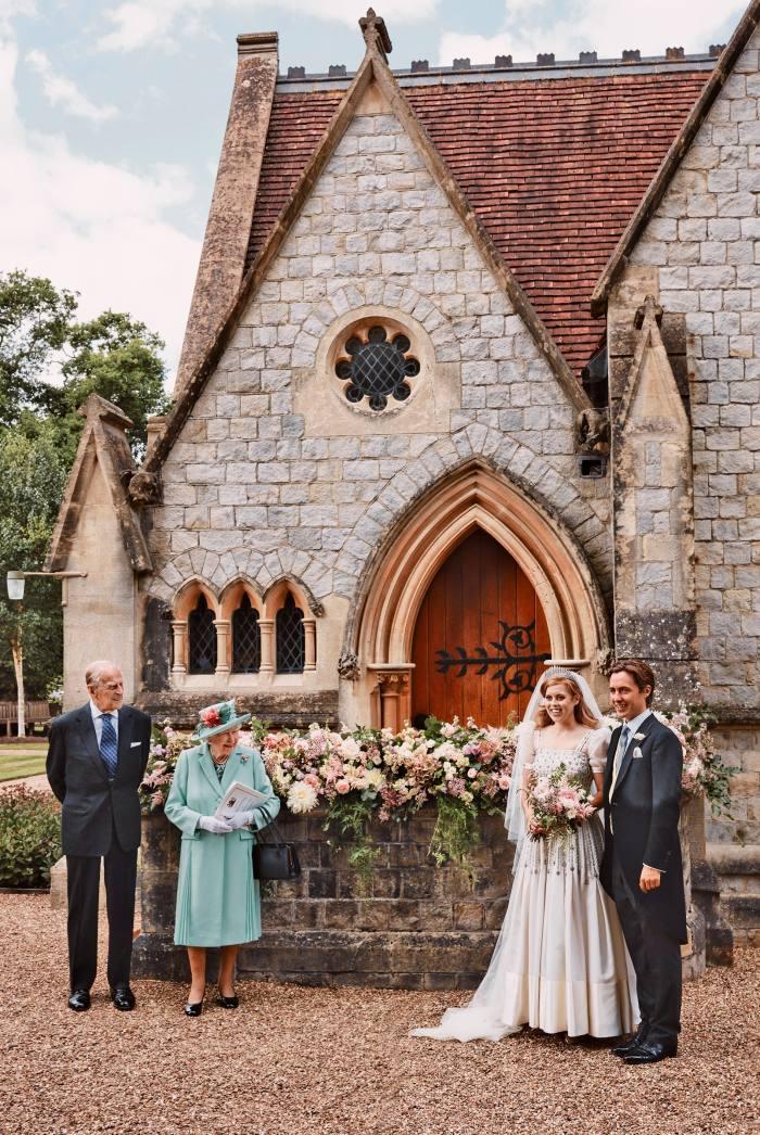 Onhis wedding day