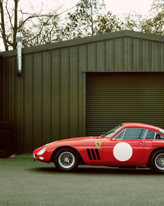 The 330 LMB's bodywork was made by coachbuilder RS Panels