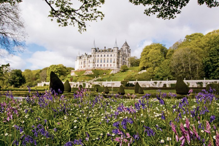 Dunrobin Castle, the family seat of the Earls of Sutherland, was inspired by Versailles