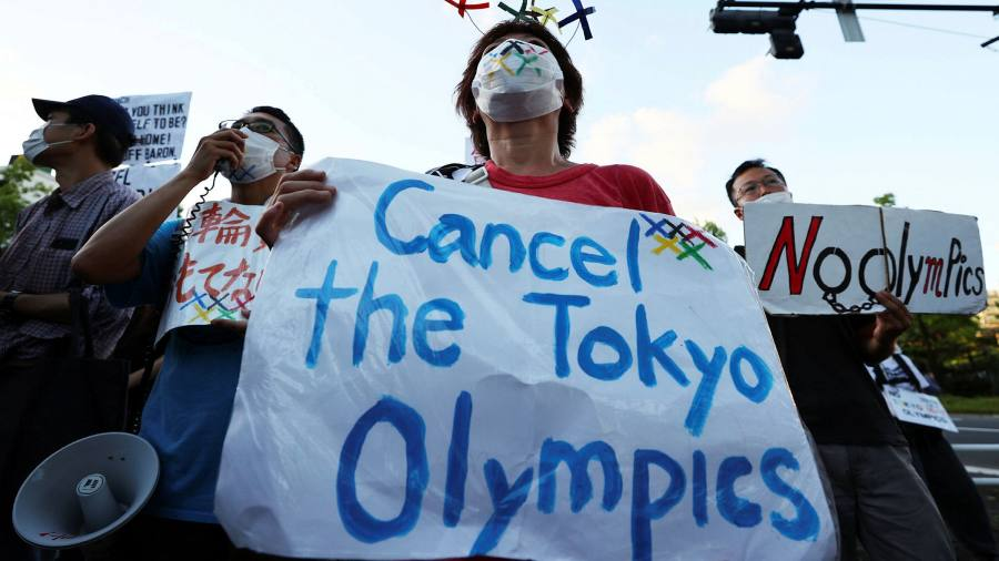 Tokyo Olympics hit by rising Covid cases and scandals days before opening