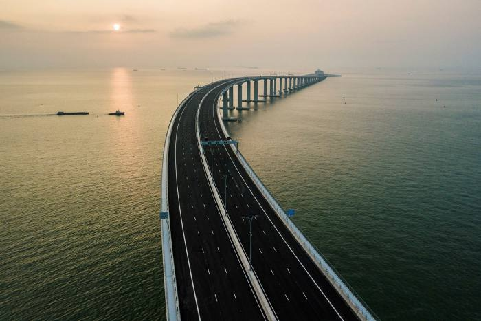 The world's longest sea-bridge connecting Hong Kong, Macau and mainland China is a cornerstone of the Greater Bay Area project