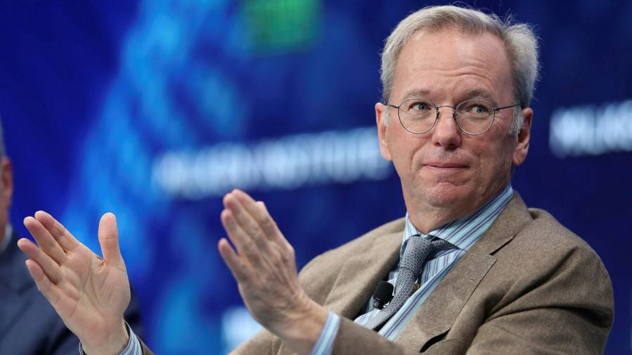 US needs Japan and Korea to counter China tech, says Google ex-CEO