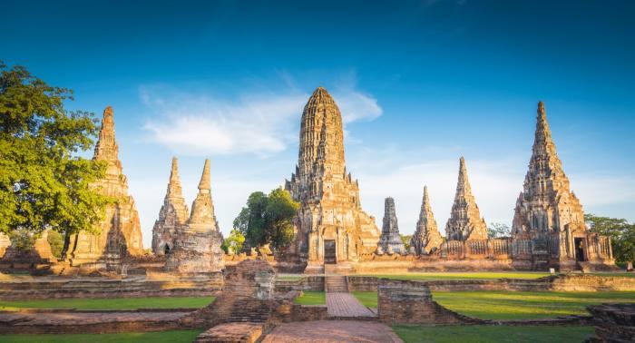 Thailand's ancient capital, Ayutthaya