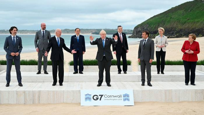 World leaders back Biden G7 call for more economic stimulus | Financial  Times