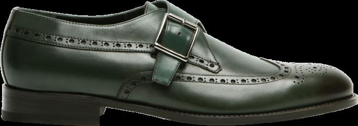 Manolo Blahnik Aribalos monk-strap shoes, £775