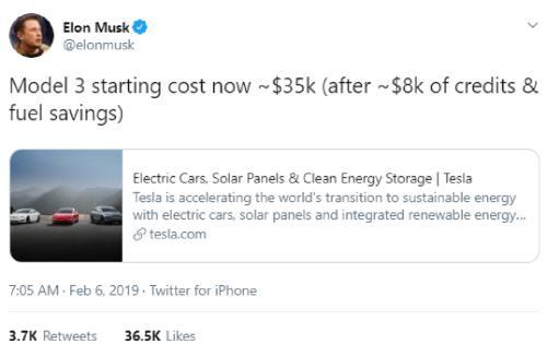 Finally, a Tesla Model 3 for $35,000* | FT Alphaville
