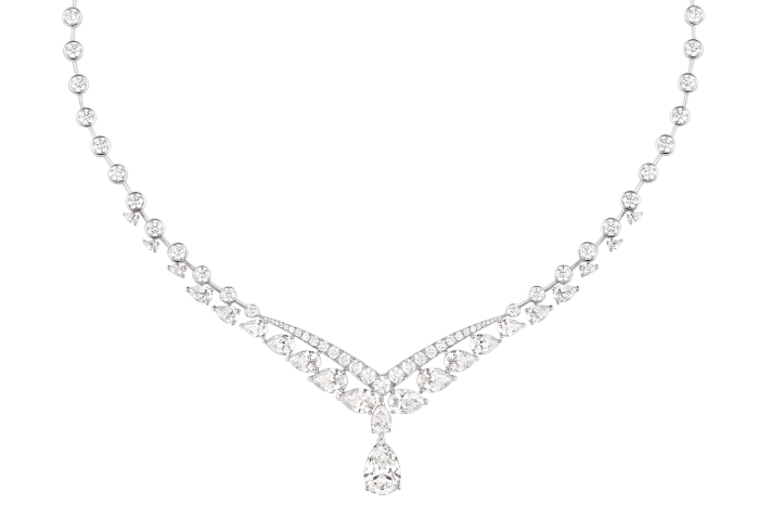 Chaumet white-gold and diamond Joséphine Valse Imperiale necklace, POA