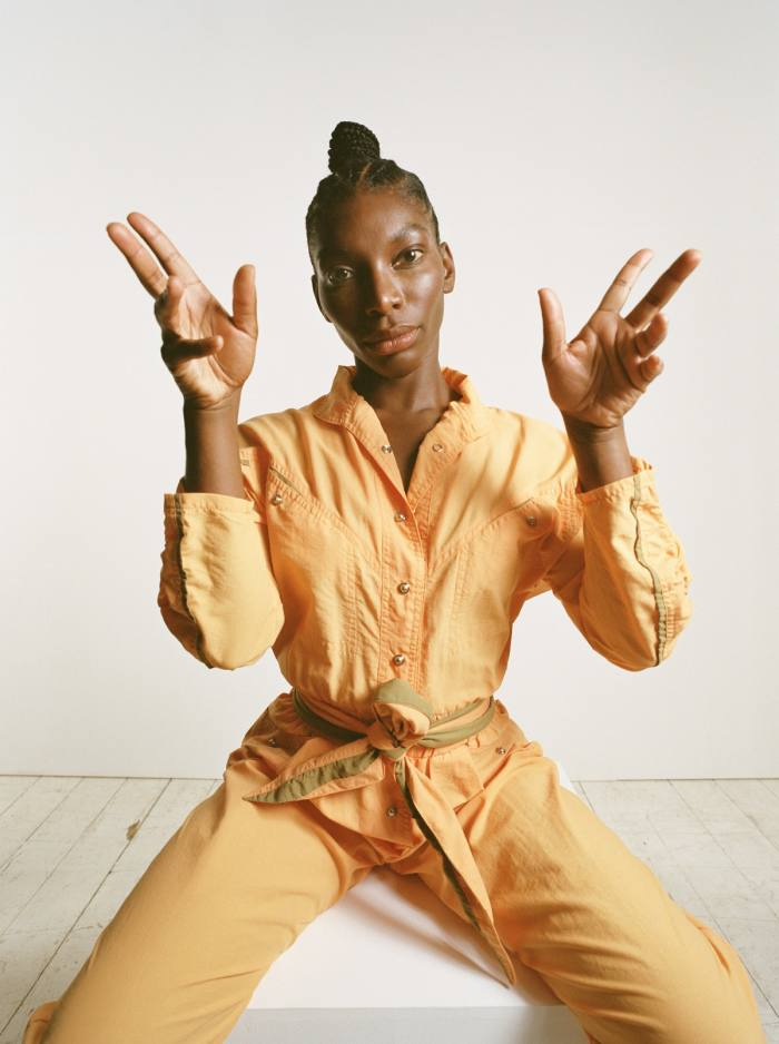 Writer and actor Michaela Coel is this year's face of Second Hand September