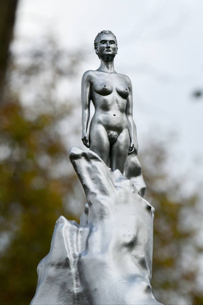 A Sculpture For Mary Wollstonecraft, 2020, by Maggie Hambling