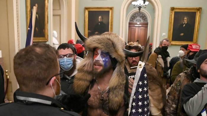 Pro-Trump Mob live-streamed