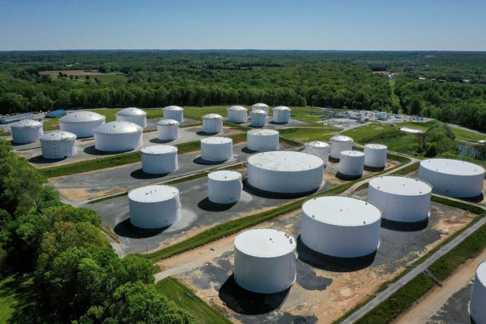 A Colonial pipeline in Maryland. The company paid $4.4m to regain access to its own infrastructure after suffering a ransomwareattack