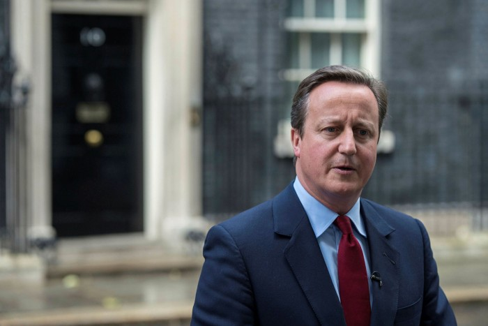 The criticism has extended to former prime minister David Cameron, who lobbied Treasury and Downing Street officials on behalf of Greensill Capital