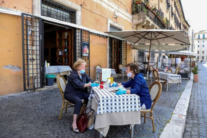 Restaurants that used to cater for tourists have begun serving authentic local dishes to an Italian clientele