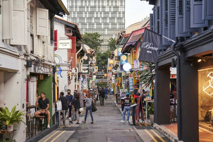 Hong Kong shoppers and other expats have been shopping in Singapore since the breaker lockdown ended in June.